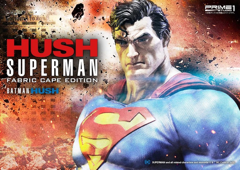 Prime 1 Studio Batman: Hush (Comics) Superman Fabric Cape Statue