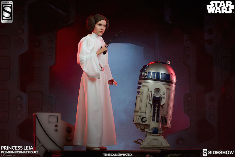 Sideshow Collectibles Star Wars: A New Hope Princess Leia Premium Format Figure Pre-Orders