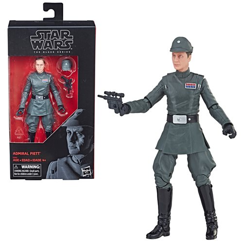 Entertainment Earth Shared Exclusive – Star Wars The Black Series Admiral Piett 6″ Figure In Stock Now