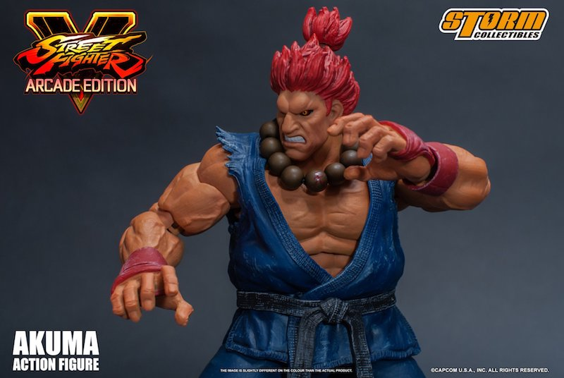 Storm Collectibles Street Fighter V Akuma (Arcade Edition) Figure Pre-Orders