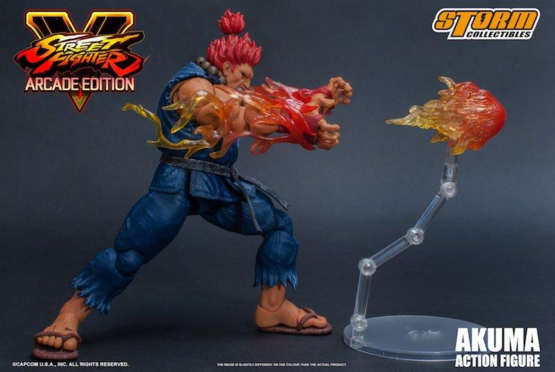 Storm Collectibles Street Fighter V Akuma Nostalgia Costume Figure