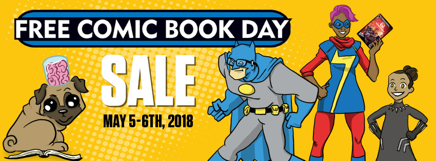 Things From Another World Offers 25% Off Sitewide & More Great Sales For Free Comic Book Day Weekend