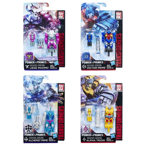 Entertainment Earth – Transformers Generations Power Of The Primes – Prime Masters Wave 2 In-Stock