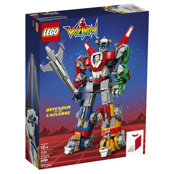 LEGO Ideas – Voltron Defender Of The Universe Set Available Now