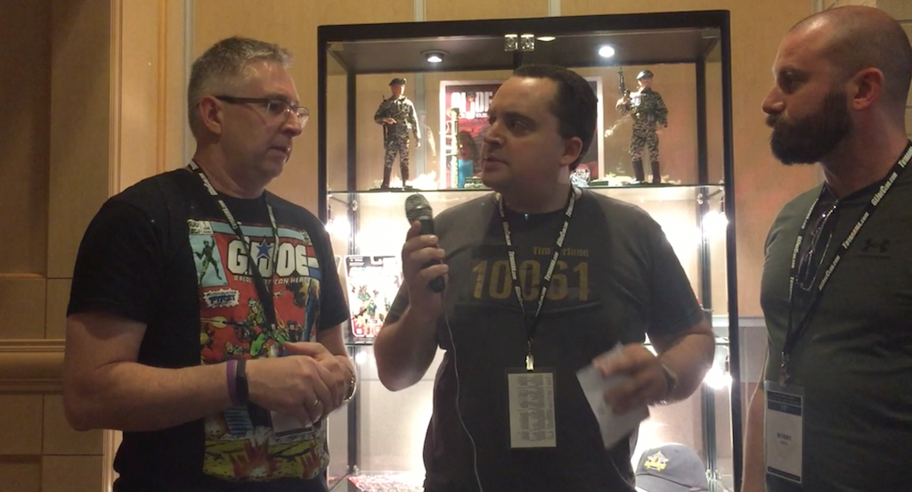 Hasbro G.I. JoeCon 2018 – Video Interview With Derryl Depriest & Bobby Vala