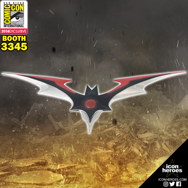 Icon Heroes SDCC 2018 Exclusive Injustice 2 Batarang Letter Opener