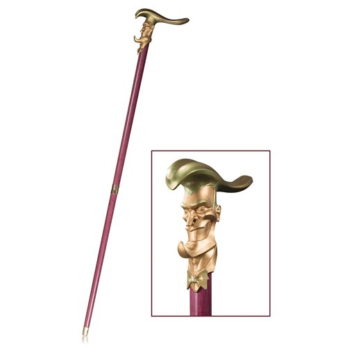 DC Collectibles – DC Gallery Joker Cane Prop Replica Now Available