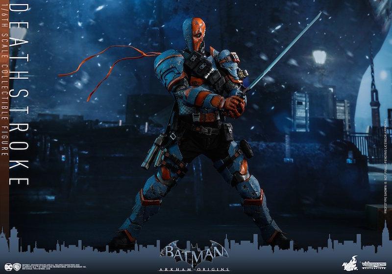 Hot Toys Batman: Arkham Origins – Deathstroke Sixth Scale Figure