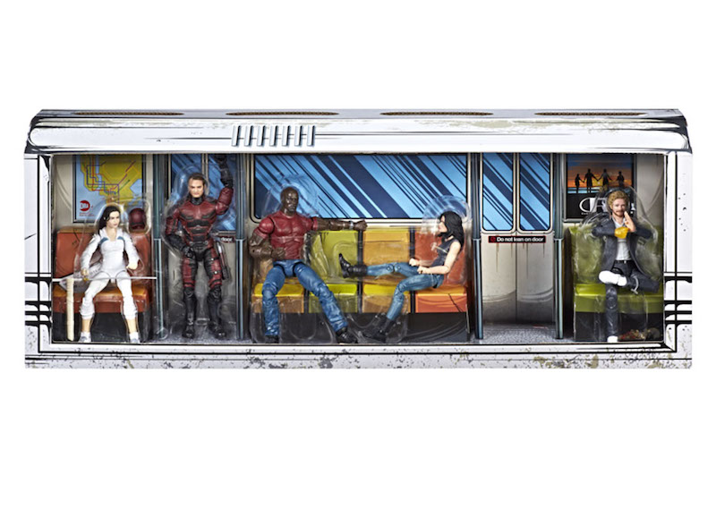 HasbroToyShop eBay Store – Marvel Legends SDCC 2018 Exclusive The Defenders Box Set In Stock