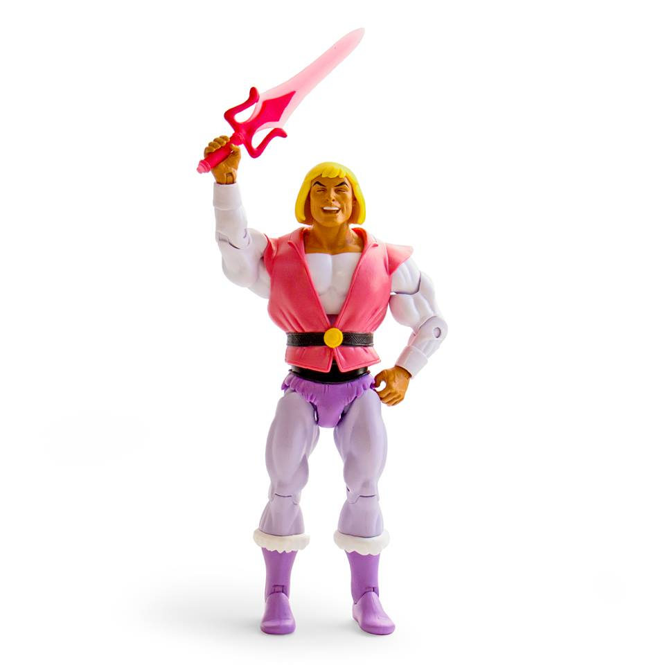 Super7 Masters Of The Universe Classics SDCC 2018 Exclusive Laughing Prince Adam Figure