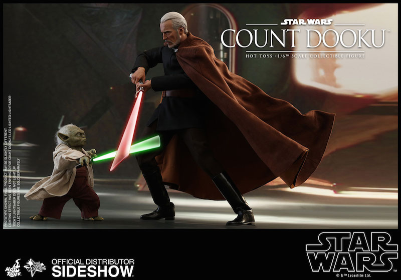 Hot Toys Star Wars Count Dooku & Yoda Sixth Scale Figure Pre-Orders