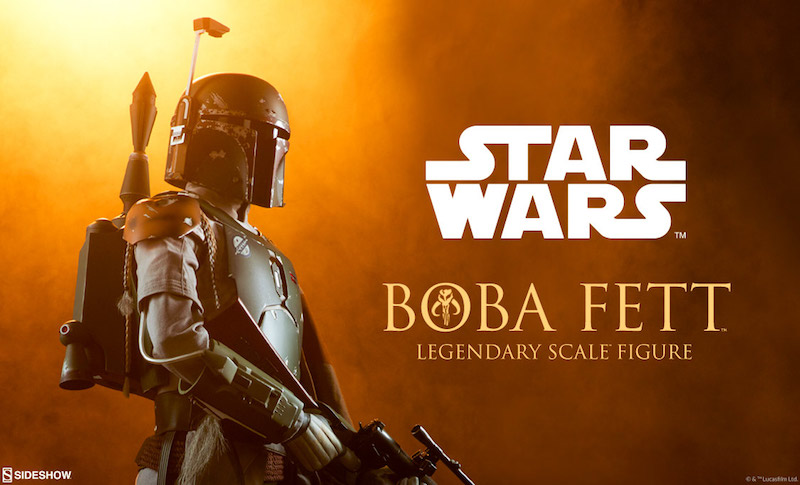 Sideshow Collectibles Star Wars Boba Fett Legendary Scale Figure Pre-Orders