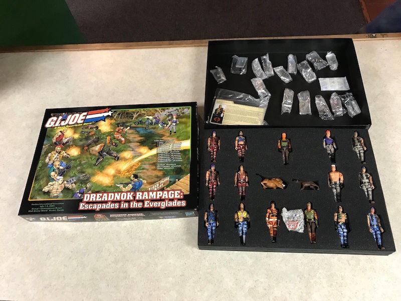 Kokomo Toys eBay Store – G.I. JoeCon 2004 Exclusive Cobra Dreadnok Rampage Box Set