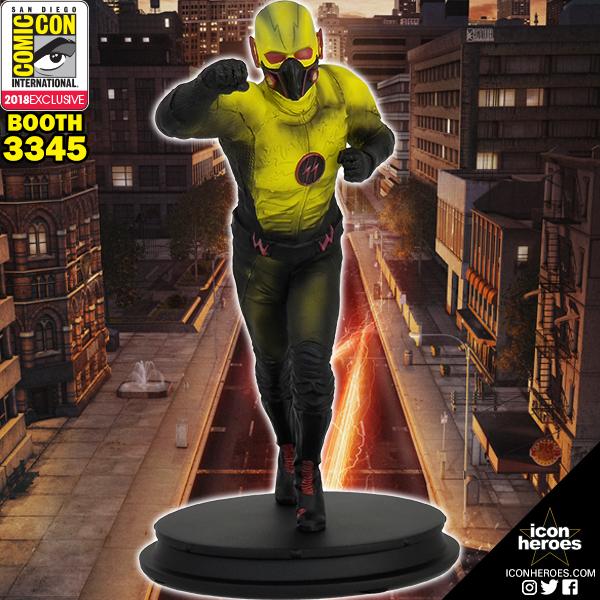 Icon Heroes SDCC 2018 Exclusive Dark Flash Statue