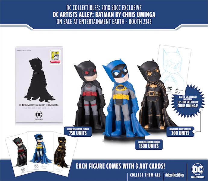 DC Collectibles Announces SDCC 2018 Exclusive Figures