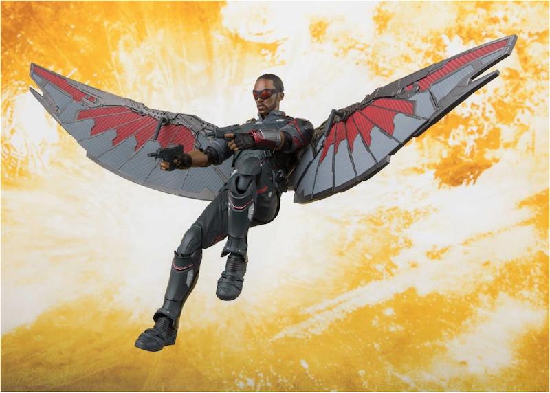 Bandai S.H. Figuarts Avengers: Infinity War Falcon Figure