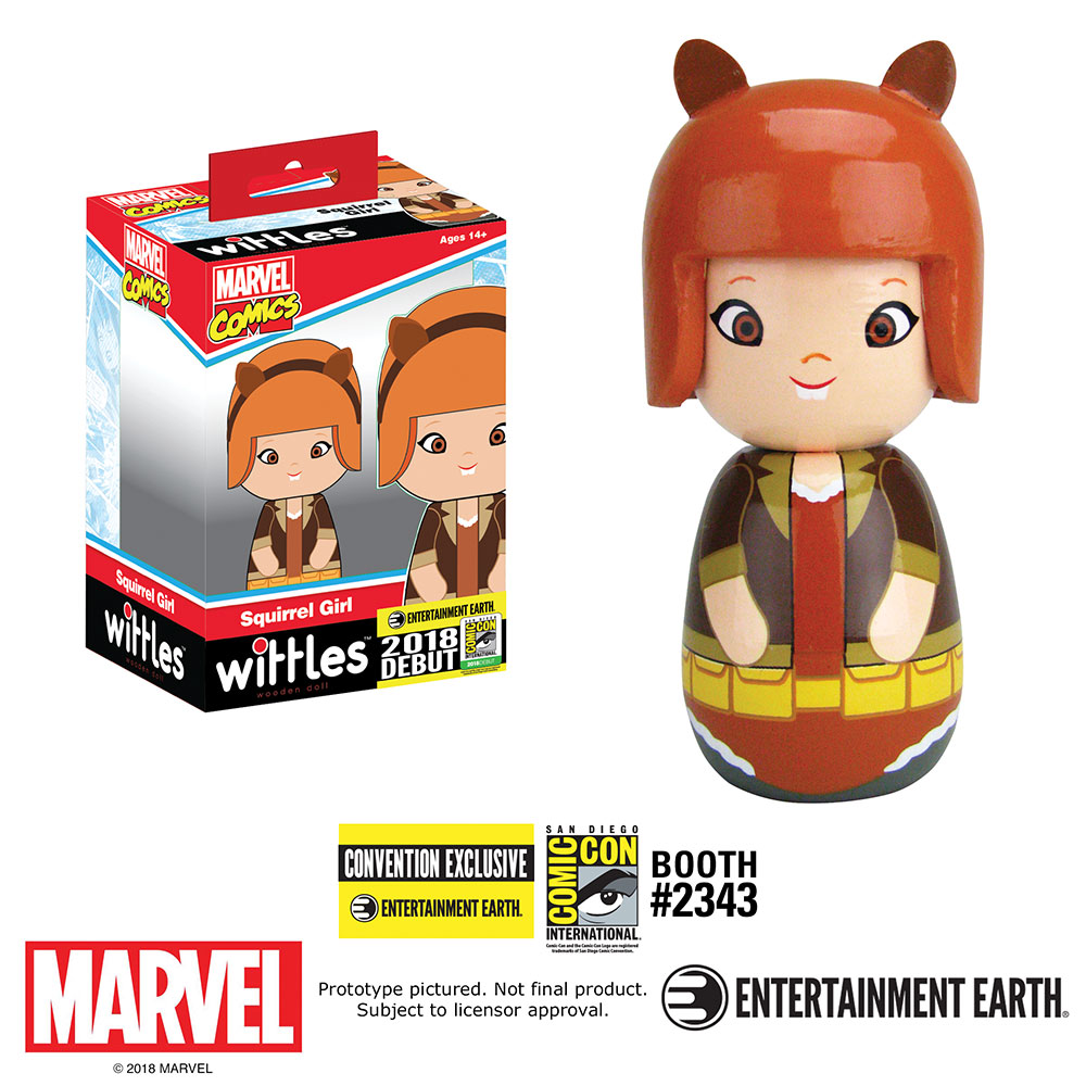 First-Look – Bif Bang Pow! SDCC 2018 Exclusive Squirrel Girl Wittle Doll