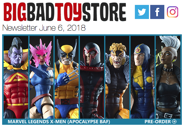 BigBadToyStore – X-Men Marvel Legends, Transformers, Boba Fett, Dragon Ball, One Piece & More