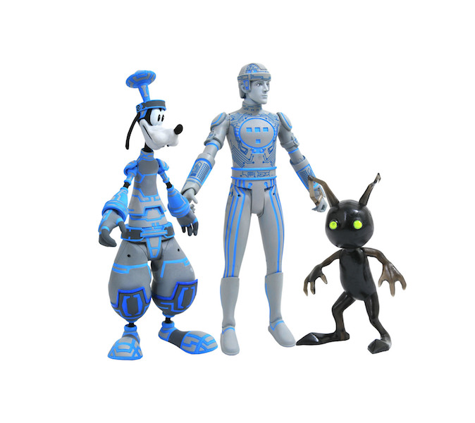Diamond Select Toys Kingdom Hearts Select – Tron Inspired Figures Announced