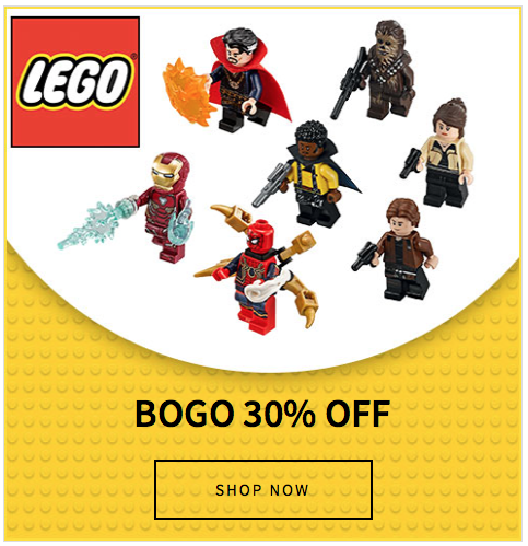 Last Day Of Entertainment Earth's LEGO BOGO Sale Of 30% Off