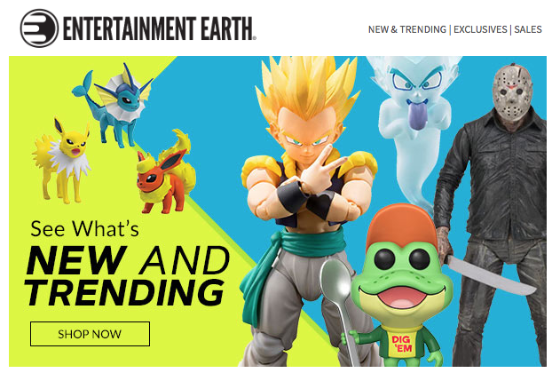 Entertainment Earth – X-Men Marvel Legends, The Real Ghostbusters, Transformers, Power Rangers & More