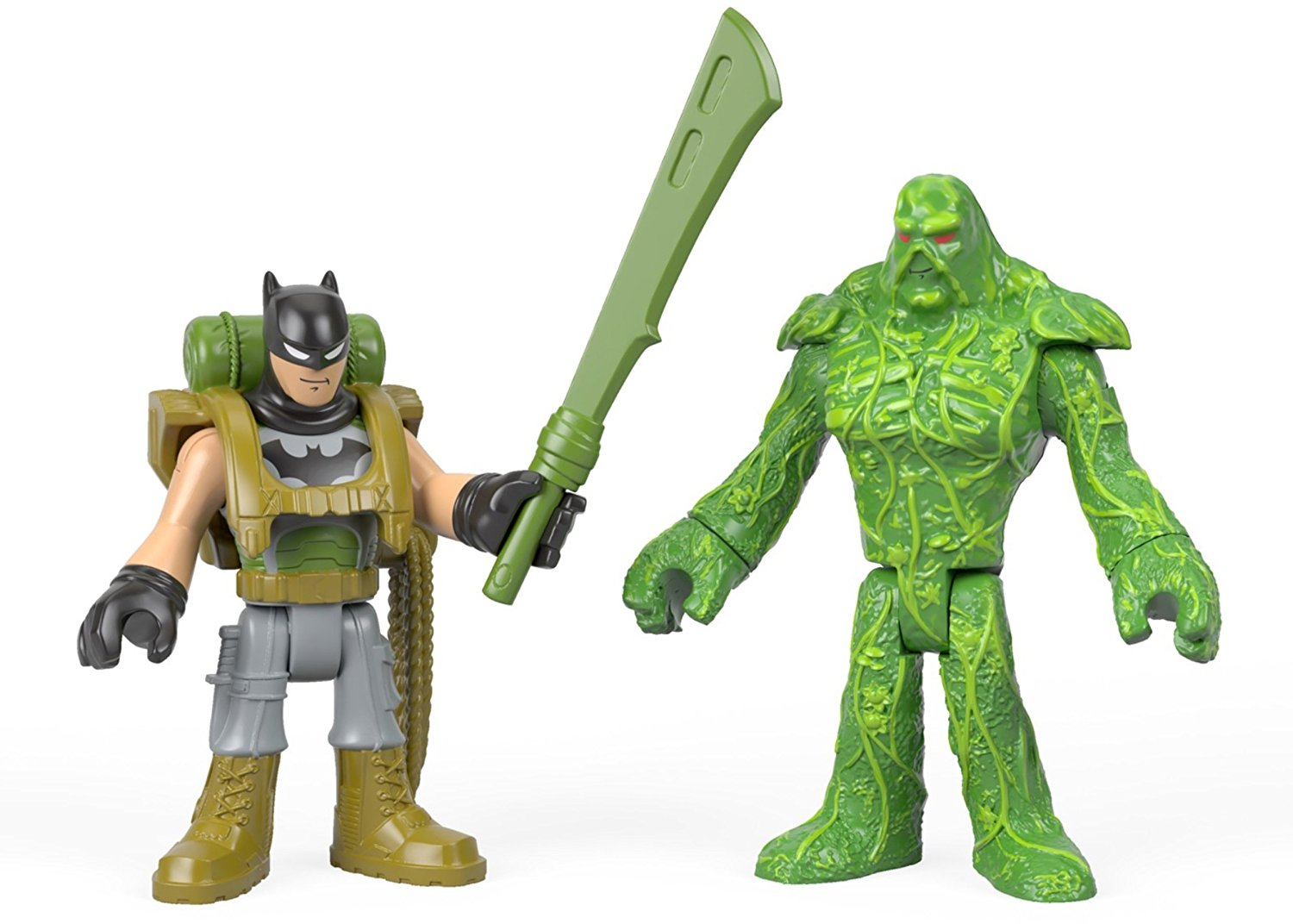 Fisher-Price Imaginext DC Super Friends Batman & Swamp Thing Figures $5.88 On Amazon