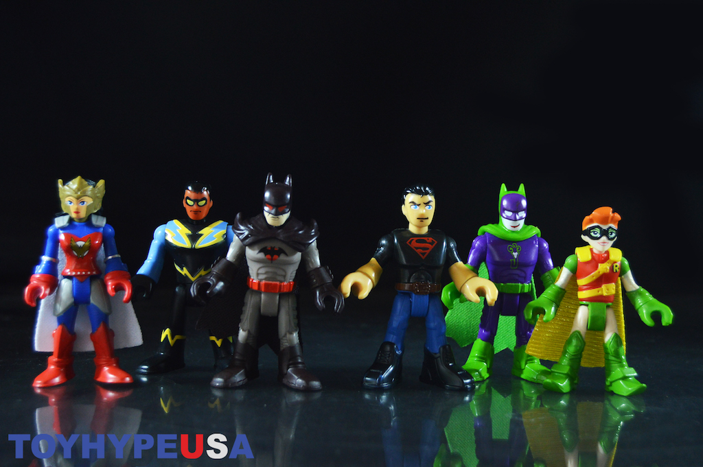 Fisher-Price Imaginext DC Super Friends Blind Bags Series 4 Review