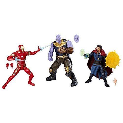 Hasbro Marvel Legends 6″ Cinematic Universe 10th Anniversary Avengers: Infinity War 3 Pack