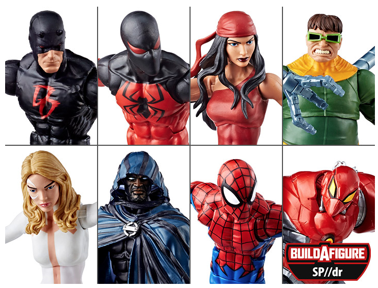 Kokomo Toys eBay Store – Marvel Legends 6″ SP//dr Spider-Man Suit (Wave 8) Figures In-Stock