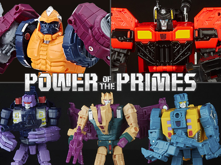 Hasbro Transformers Power Of The Primes Wave 3 Figure Pre-Orders