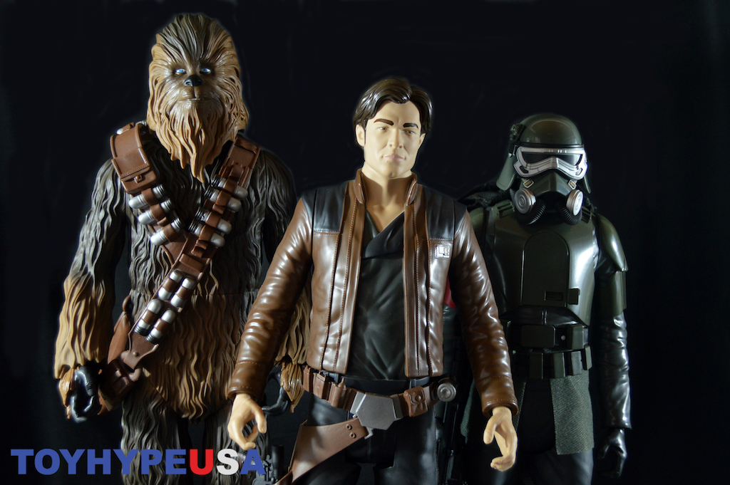 Jakks Pacific – Solo: A Star Wars Story Han Solo, Chewbacca & Mud Trooper Big Figs Review