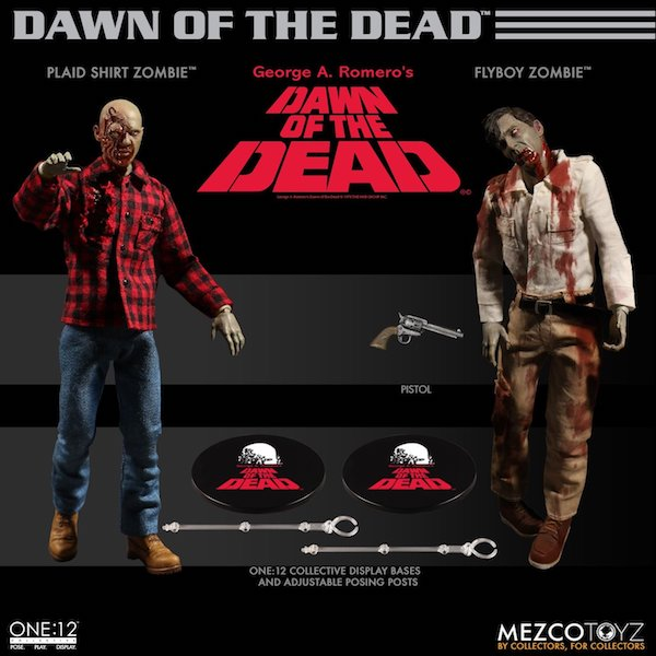 Mezco Toyz Dawn Of The Dead One:12 Collective Boxed Set