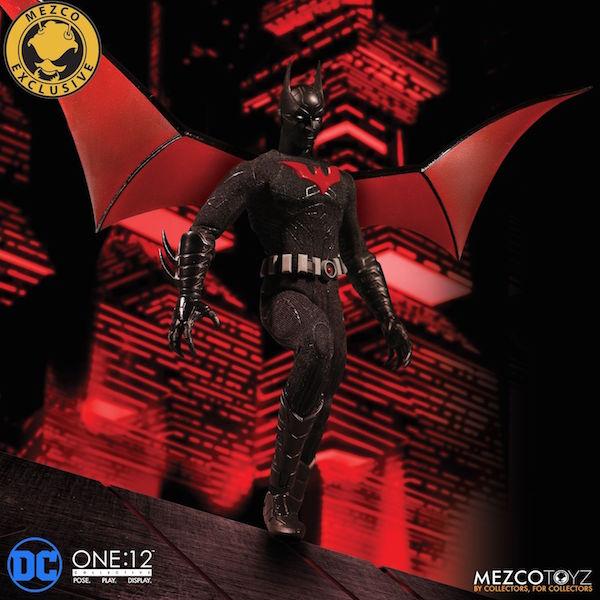 Mezco Toyz SDCC 2018 Exclusive Batman Beyond One:12 CollectiveFigure