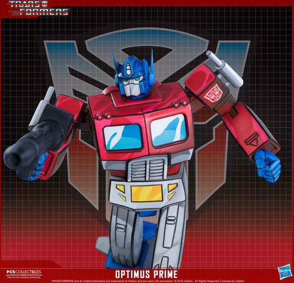 PCS Transformers Optimus Prime Classic Scale G1 Statue