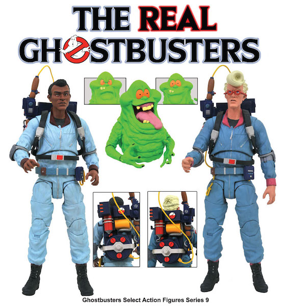 Diamond Select Toys Shipping This Week – The Real Ghostbusters Select Series 9