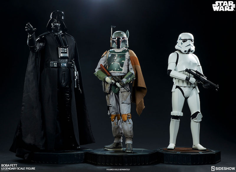 Sideshow Collectibles Star Wars Boba Fett Legendary Scale Figure