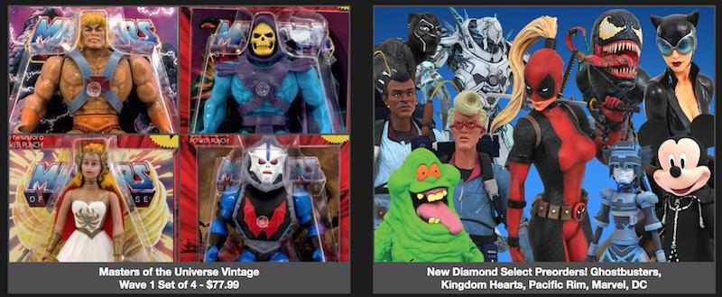 BigBadToyStore – Predaking, Ghostbusters, Pacific Rim, Kingdom Hearts, Macross, ANOES, DC, Star Wars & More