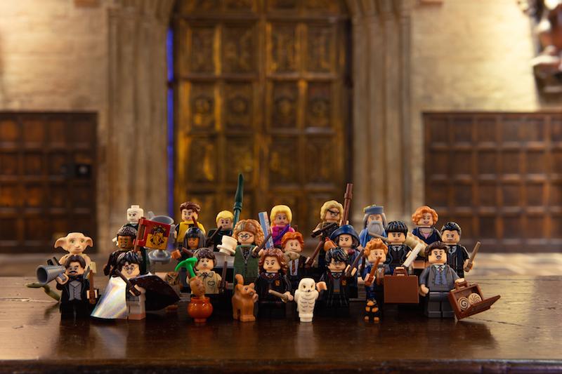 LEGO Announces Harry Potter Minifigure Blind-Bag Series