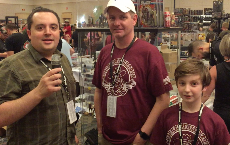 Hasbro G.I. JoeCon 2018 – Chicken Fried Toys Video Interview With Paul Mundheim