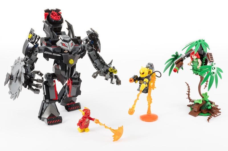 LEGO Batman Mech Vs. Poison Ivy Mech Set