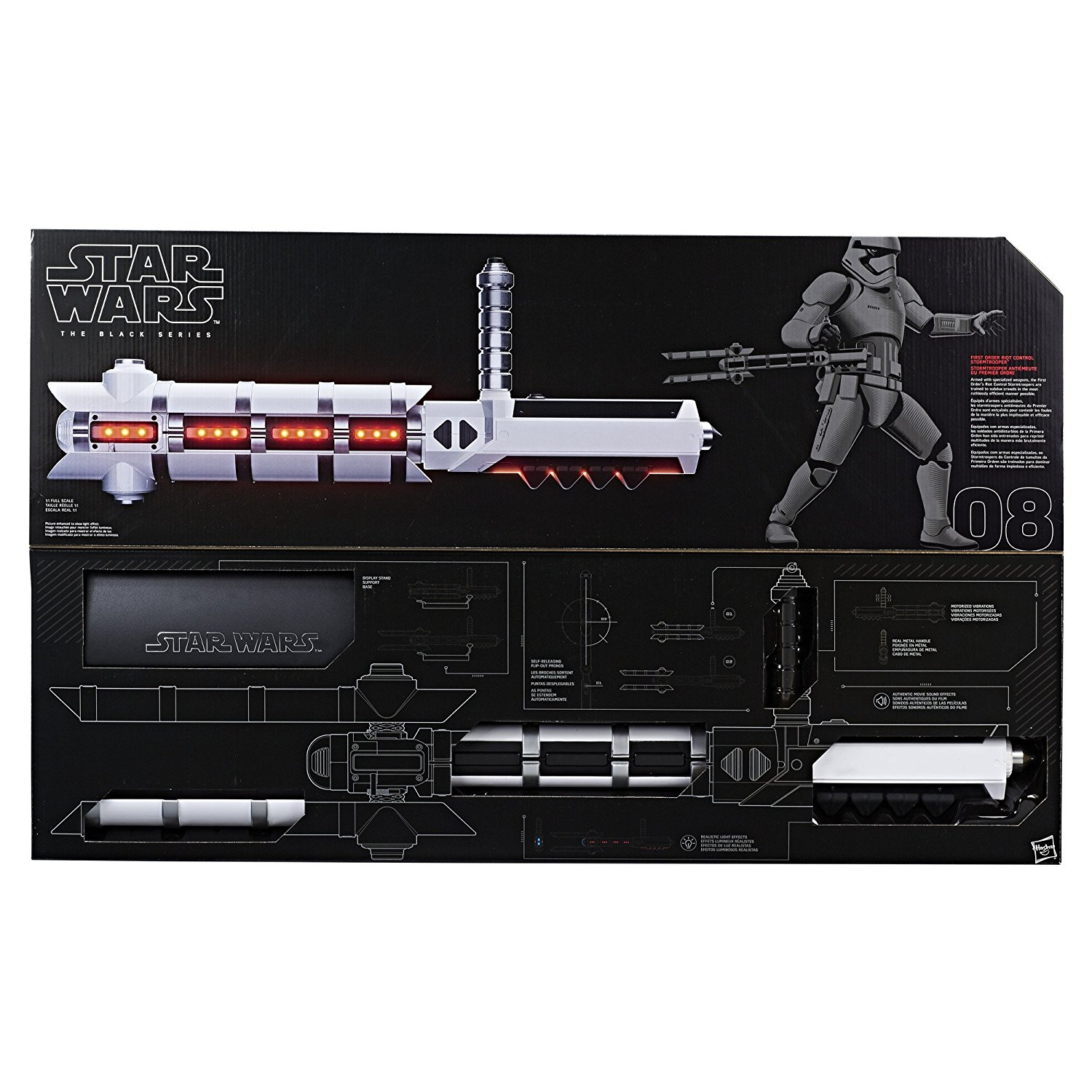 Star Wars The Black Series Force FX Z6 Riot Control Baton Pre-Orders On Amazon
