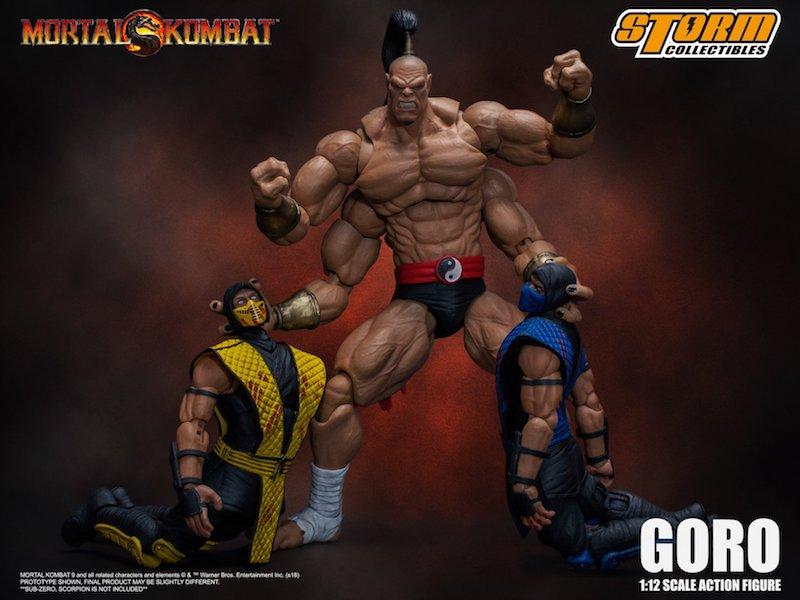 Storm Collectibles Mortal Kombat Goro 1/12th Scale Figure