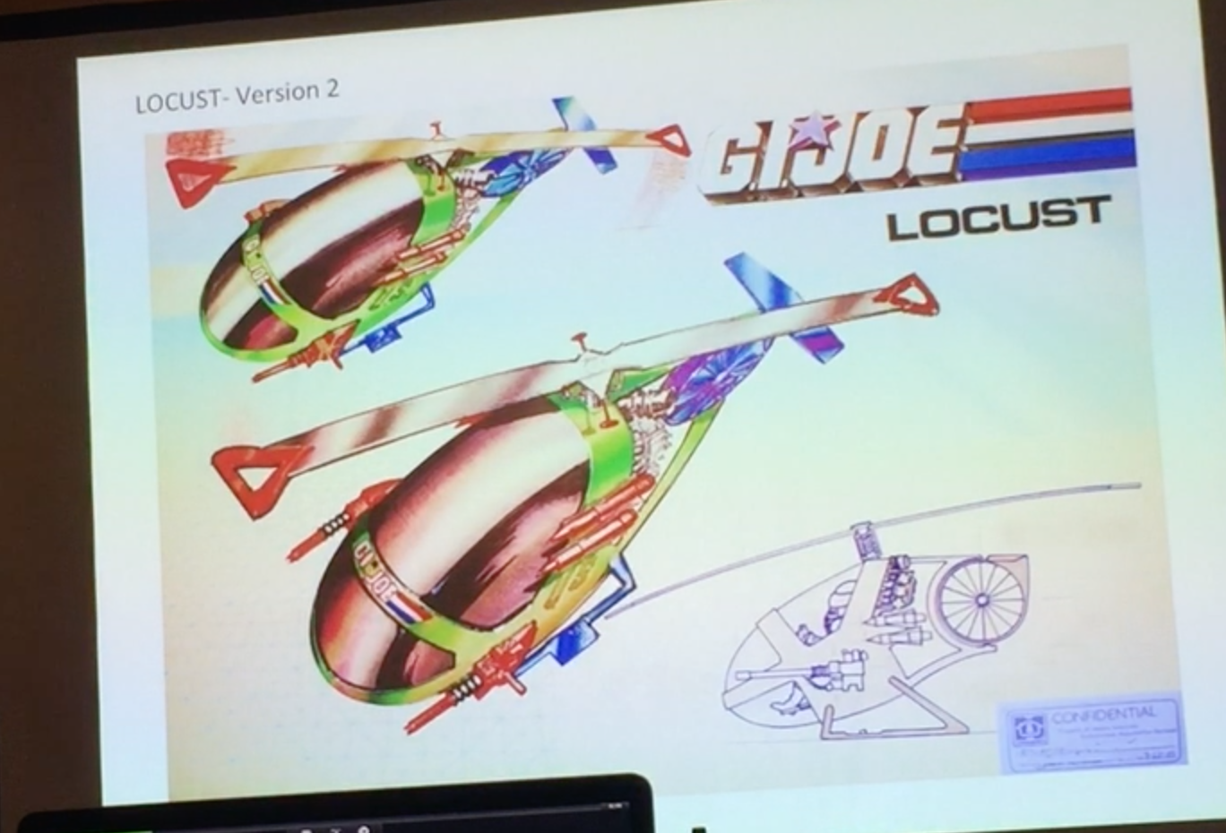 Hasbro G.I. JoeCon 2018 – Vehicle Design, Prototyping And The Discarded With David Kunitz Panel Video Coverage