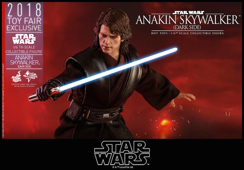 Hot Toys Star Wars: Revenge Of The Sith – Anakin Skywalker Sixth Scale Figure