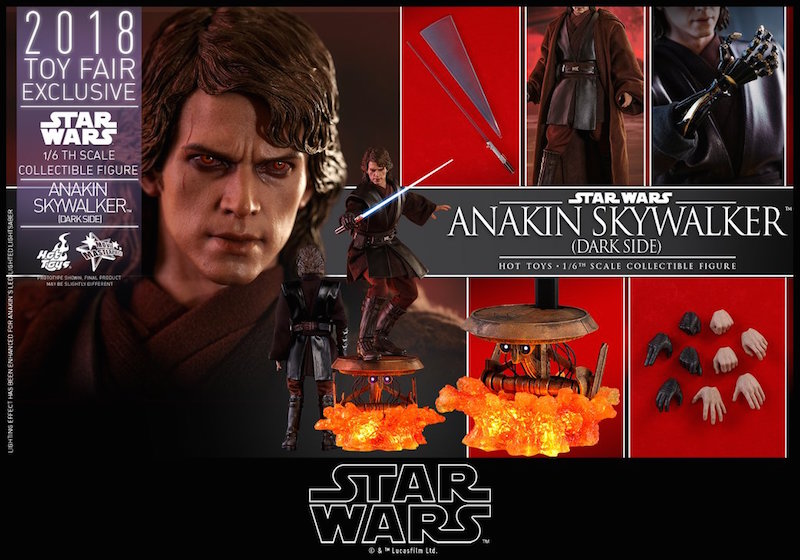 Hot Toys Star Wars: Revenge Of The Sith – Anakin Skywalker Sixth Scale Figure Pre-Orders