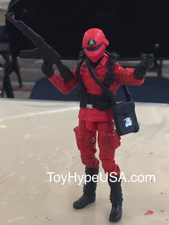 Hasbro G.I. JoeCon Customizing Class 2018 – Red Shadows Trooper Figure