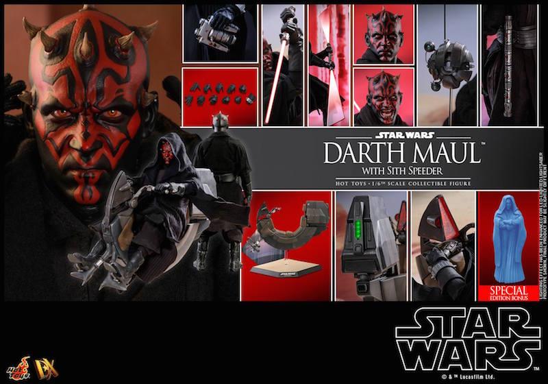 Hot Toys Star Wars: The Phantom Menace – Darth Maul Sixth Scale Figure Pre-Orders