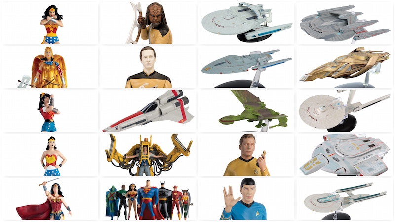 Eaglemoss Announces San Diego Comic-Con 2018 Exclusives – DC, Star Trek, Star Wars & More