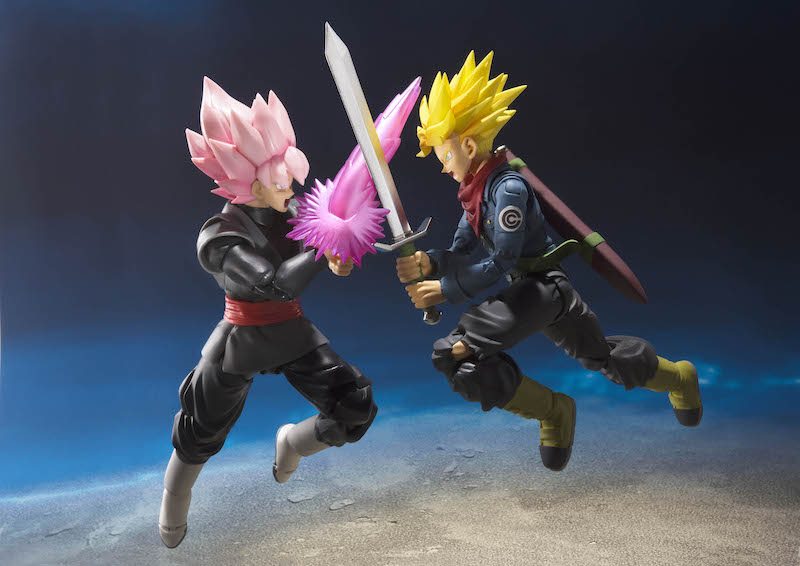 S.H. Figuarts Dragon Ball Super Future Trunks Figure Available Now