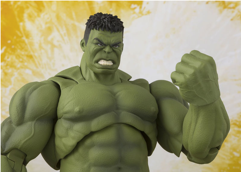 Bandai S.H. Figuarts Avengers: Infinity War Hulk Figure